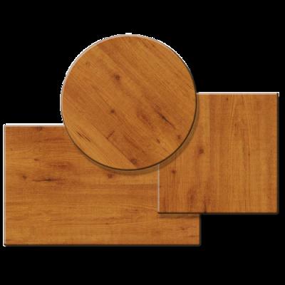 Pöytälevy 600x500mm/6mm sopii 450-555 mm tuolille